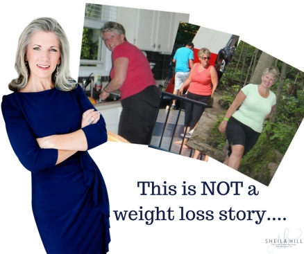 This is NOT a weight loss story....
