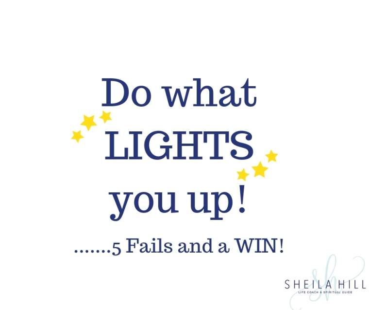 Do what LIGHTS you up!